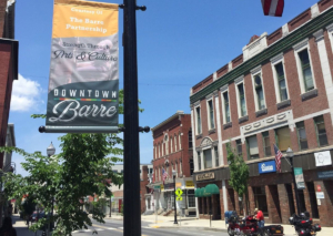 Main Street in Barre VT