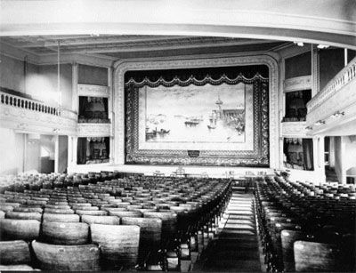 The historic Opera House in Barre, VT