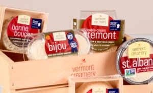 Vermont Creamery makes world-renowned cheese at the Wilson Industrial Park in Barre, VT.