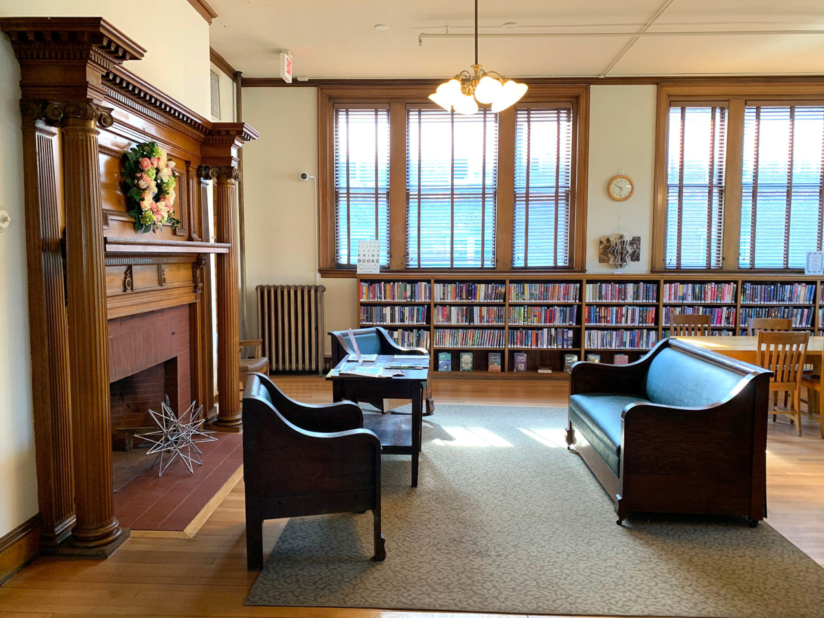 The Katherine Paterson Children's Room at Aldrich Public Library in Barre, VT